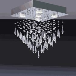 Plafon Thunder led (Lâmp. 5x5W) - Casa Anzai