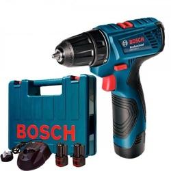 Parafusadeira A Bateria Bosch Gsr 120-Li - Casa Anzai
