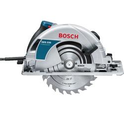 Serra Circular Bosch GKS 235 1700W 127V - Casa Anzai