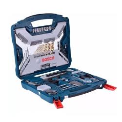 Kit de ferramentas x-line 100 peças Bosch - Casa Anzai