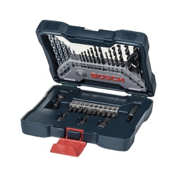 Kit de ferramentas x-line 33 peças Bosch - Casa Anzai