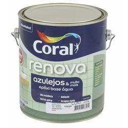 Epóxi À Base De Água Renova Azulejos Cor Branco 3... - Casa Costa Tintas