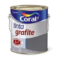 Esmalte Sintético Tinta Grafite Fosco 3,6L - Coral - Casa Costa Tintas