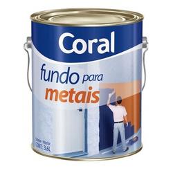 Fundo Galvanizado para Metais 3,6L CORAL - Casa Costa Tintas