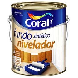 Fundo Sint Nivelador Branco - Coral 3,6l - Casa Costa Tintas
