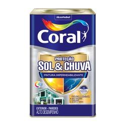 IMPERMEABILIZANTE SOL E CHUVA ACR CORAL BASE T 16L - Casa Costa Tintas