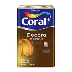 Decora Diamante Branco 18L Coral - Casa Costa Tintas
