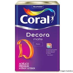 Decora Acrílico Premium Matte Branco Coral 18L - Casa Costa Tintas