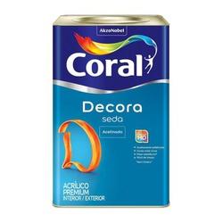 Decora Acrílico Premium Seda Cor Branco 18L - Casa Costa Tintas