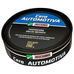 Cera Profissional Auto Maxi Rubber 200gr - Casa Costa Tintas