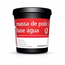 MASSA POLIR 2 B.ÁGUA MAXI RUBBER 1KG - Casa Costa Tintas