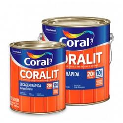 Coralit Sint Bri Secagem Rapida 3,6 L Coral - Casa Costa Tintas