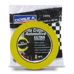 Fita Crepe Amarela 18mmx40mm 974c Ultra DOBLEA - Casa Costa Tintas