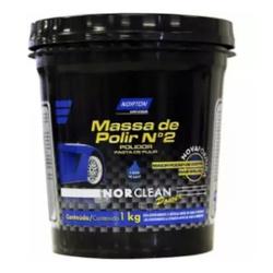 Massa Polir B.Agua N2 Norclean Power 1KG - Casa Costa Tintas