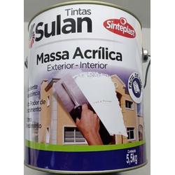 Massa Acrílica 5,8KG Sulan - Casa Costa Tintas