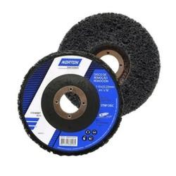 Disco de Limpeza Strip Disc Norton Preto 115x22MM - Casa Costa Tintas