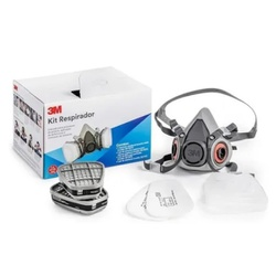 Kit Respirador 6200 3M - Casa Costa Tintas