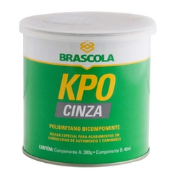 Brascoved KPO Vedação C/CAT Cinza 380gr Brascola - Casa Costa Tintas