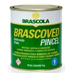 Preto Brascoved Pincel Anti-ruido 1kg Brascola - Casa Costa Tintas