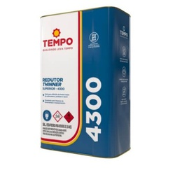 Redutor 4300 P/PU e Epoxi 5L Tempo - Casa Costa Tintas