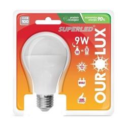 Lampada SuperLed 9W BIV OUROLUX - Casa Costa Tintas