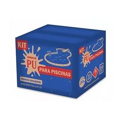 Kit PU Para Piscina Azul Mabtek 3,6L - Casa Costa Tintas
