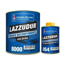 Verniz 8000bi-comp. C/cat.054 Kit 900 ml Lazzuril - Casa Costa Tintas