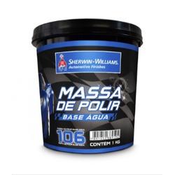 Massa Polir B.agua N°2 1kg Lazzuril - Casa Costa Tintas