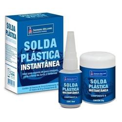 Solda Plastica Inst. Comp a+b 32gr Standart Lazzur... - Casa Costa Tintas