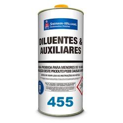 Thinner 455 P/ Pu C/ Batoque 900ml Lazzuril - Casa Costa Tintas