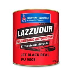 Jet Black Ral 9005 Pu 675ml Lazzudur - Casa Costa Tintas