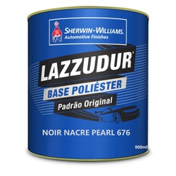 Noir Nacre Pearl (676) 900ml Lazzudur - Casa Costa Tintas