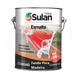Fundo Nivelador Para Madeira Branco 3,6l Sulan - Casa Costa Tintas