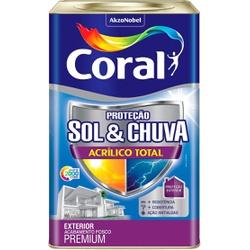 Sol e Chuva Acrílico Total 18L - Coral - Casa Costa Tintas