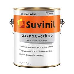 Selador Acrílico Suvinil 3,6 Litros - Casa Costa Tintas