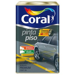 Tinta Pinta Piso Coral 18l - Casa Costa Tintas