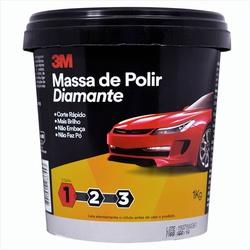MASSA POLIR DIAMANTE 1KG 3M - Casa Costa Tintas