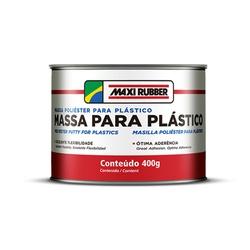 MASSA P/ PLÁSTICO MAXI RUBBER 400G - Casa Costa Tintas