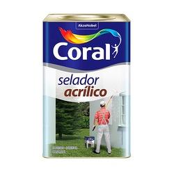 Selador Acrílico Coral 18l - Casa Costa Tintas