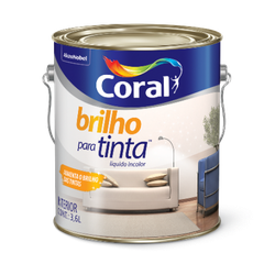 Brilho Para Tinta Coral 3,6l - Casa Costa Tintas