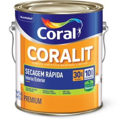 Coralit Balance Secagem Rápida Acetinado Cor Bran... - Casa Costa Tintas