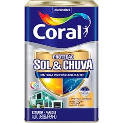 Tinta Impermeabilizante Sol E Chuva Branco Coral 1... - Casa Costa Tintas