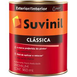 Tinta Clássica Branco Neve PVA Suvinil 900ml - Casa Costa Tintas