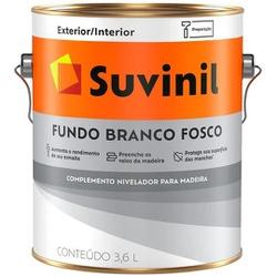 Fundo Preparador Fosco Branco Suvinil 3,6 Litros - Casa Costa Tintas