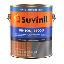 Tinta Esmalte Pintou Secou Suvinil 3,6 Litros - Casa Costa Tintas