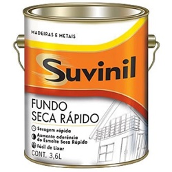 Fundo Seca Rápido Suvinil 3,6 Litros - Casa Costa Tintas
