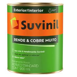 Tinta Acrílica Rende e Cobre Muito Suvinil 900ml - Casa Costa Tintas