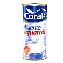 Aguarras Coral 900ml - Casa Costa Tintas