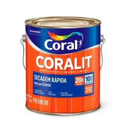 Coralit Secagem Rápida Acetinado Branco 3,6L - Cor... - Casa Costa Tintas