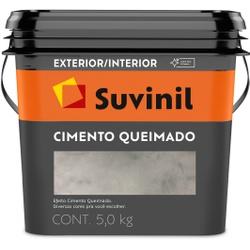 Cimento Queimado Cor Túnel De Concreto 5kg - Casa Costa Tintas